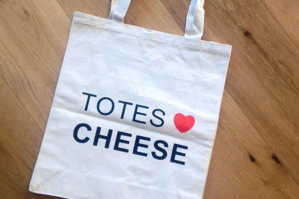 Totes Love Cheese Bag The Making Kitthe Kit