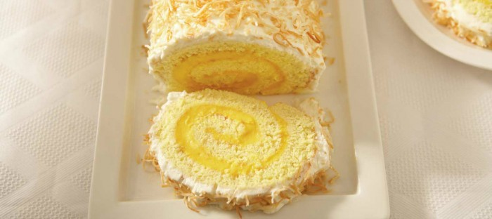ricotta-mango-and-coconut-christmas-log