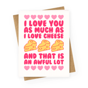Cheesy Valentine S Cards The Big Cheese Making Kit