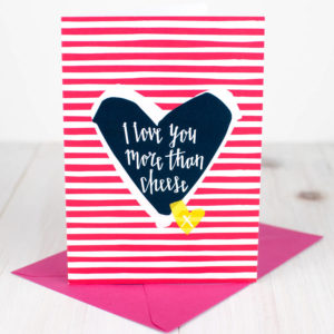 Cheesy Valentines Cards  The Big Cheese Making Kit